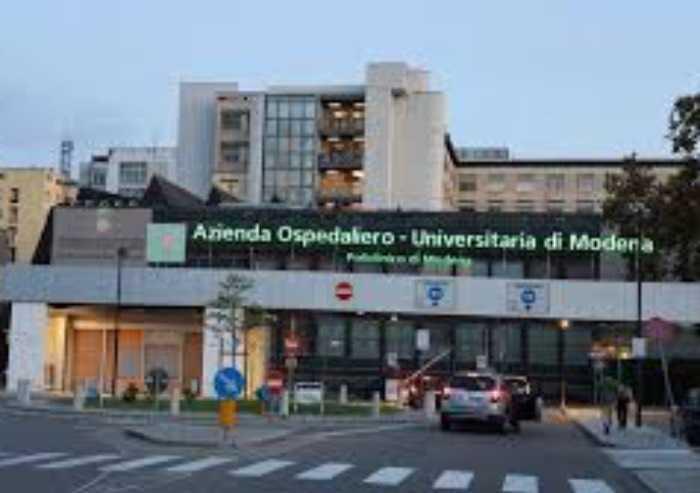 Covid, focolaio nel reparto Cardiologia del Policlinico di Modena