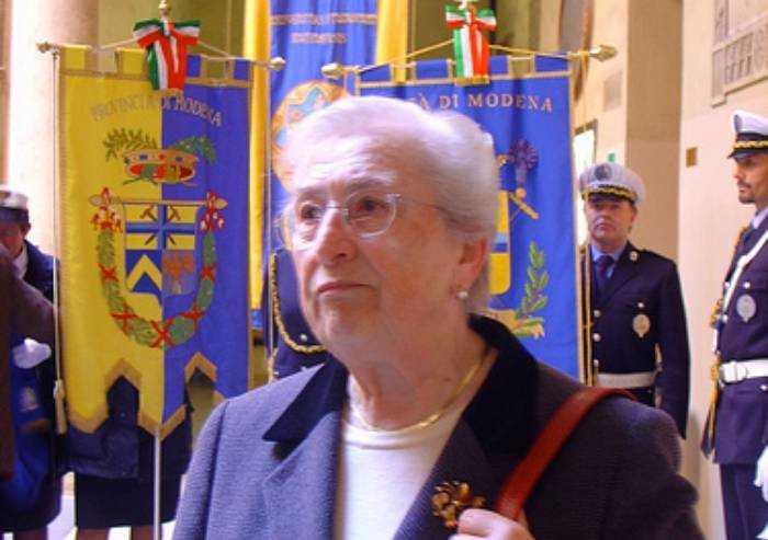Morta Aude Pacchioni, storica presidente A.N.P.I.