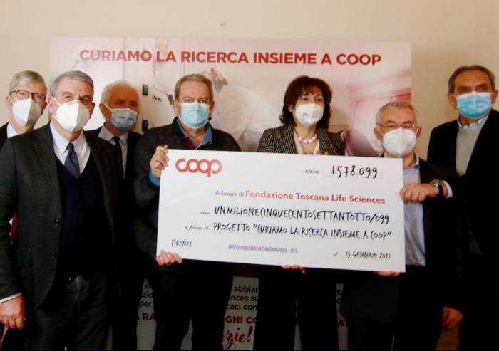 Ricerca scientifica, Coop Alleanza 3.0 ha raccolto 1,5 milioni di euro