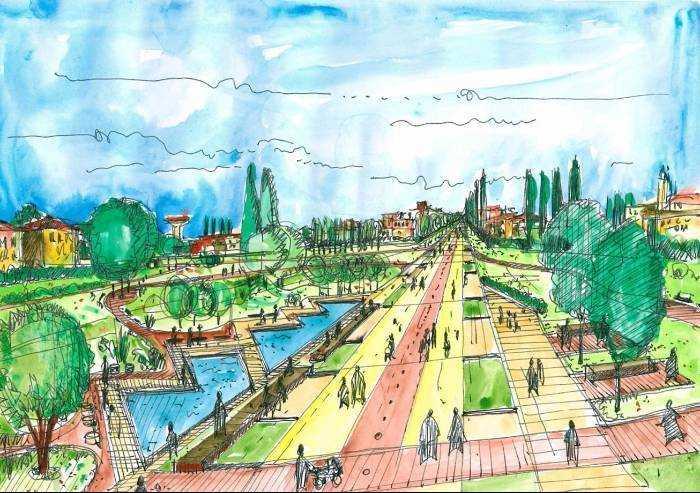 Modena, la Diagonale lontana dall'essere ri-cucita