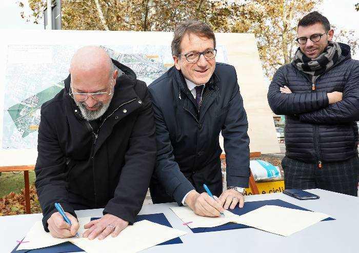 'Modena, la cosiddetta Diagonale era parte di un progetto ben diverso'