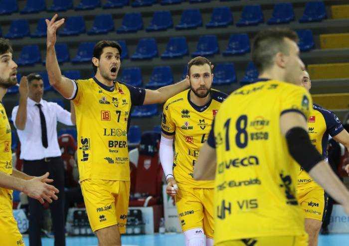 Volley, Leo shoes: con Civitanova sconfitta immeritata