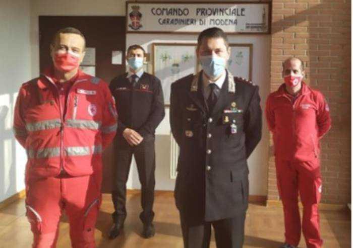 Modena: Croce Rossa e carabinieri, continua la collaborazione