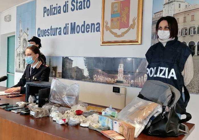 Arrestati re e regina dello spaccio di cocaina a Modena