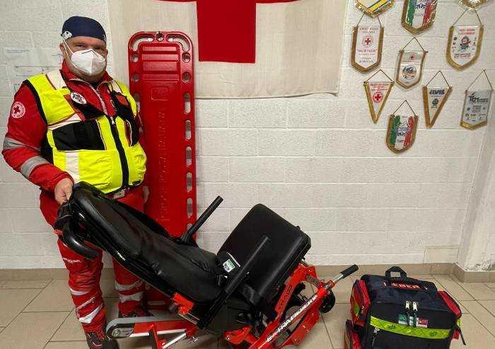 Pavullo, importante donazione anonima da una azienda alla Croce Rossa
