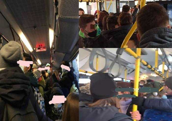 'Bus scolastici, su diverse linee i sovraffollamenti sono la regola'