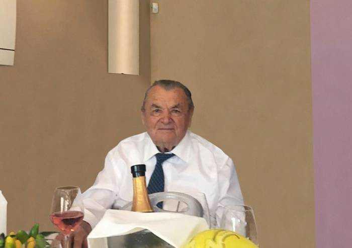Fiorano, festa per i 100 anni di Vito Barbolini