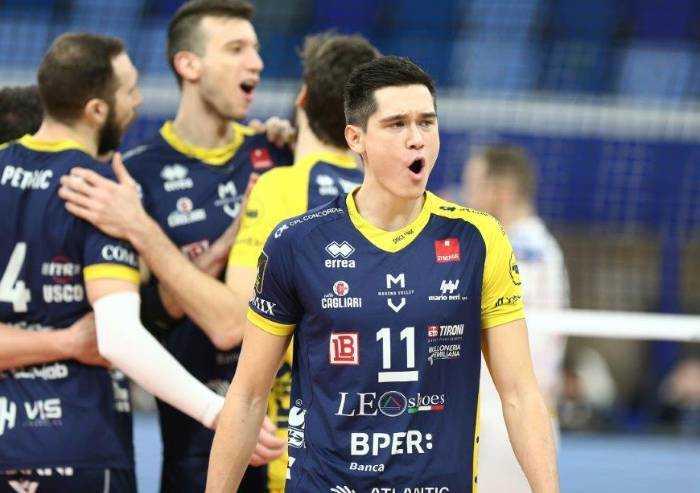 Volley: Modena perde anche al Palalido