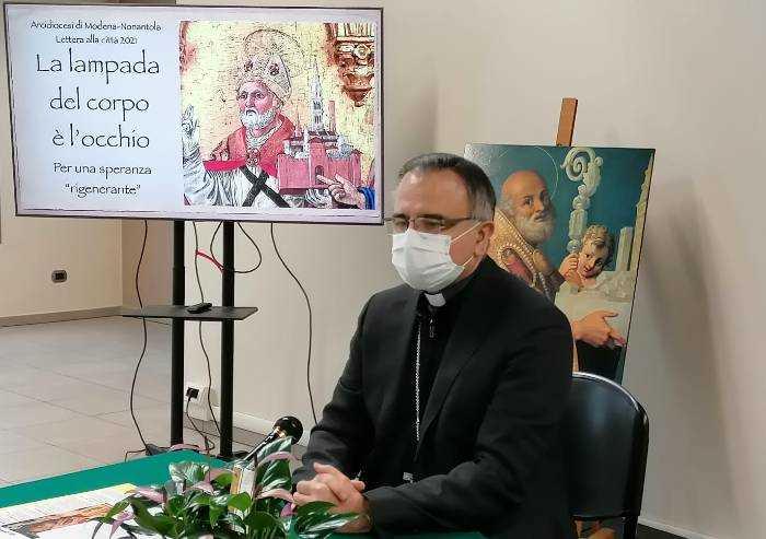 'La lampada del corpo è l'occhio', la lettera dell'Arcivescovo alla città
