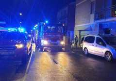 Incendio garage in via La Spezia, ..