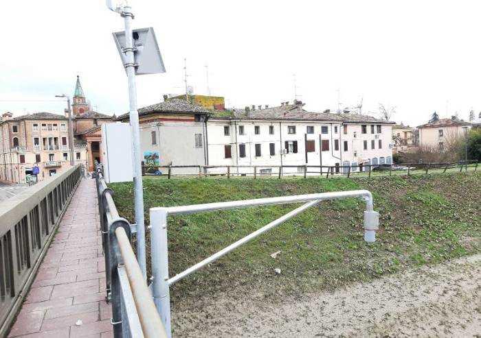 Bomporto, nuovo idrometro radar sul Naviglio