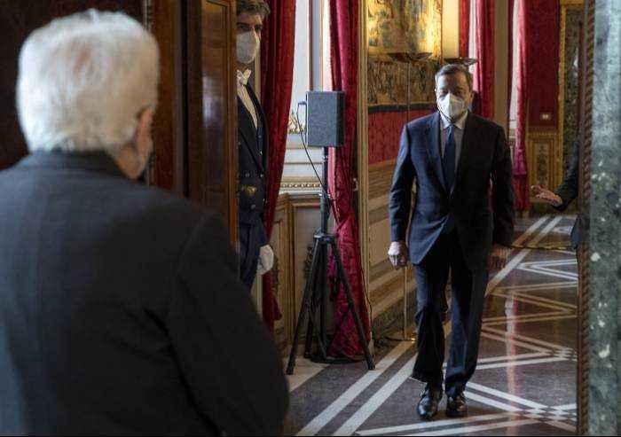 Governo Draghi, ultimo tassello: oggi il probabile si dei grillini, poi la scelta