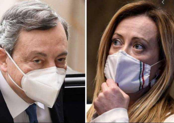 Governo Draghi: fiducia dal 59% degli italiani