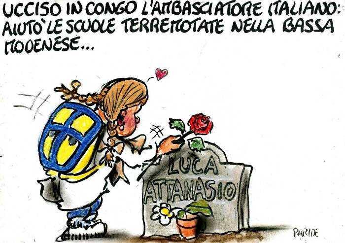 In ricordo di Luca Attanasio: un fiore dalla Bassa Modenese
