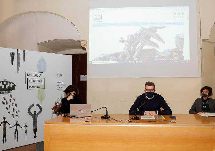 Modena, a 150 anni dalla nascita il Museo civico torna alle origini