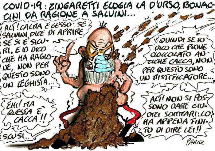 Le svolte di Bonaccini: non per questo sono leghista...