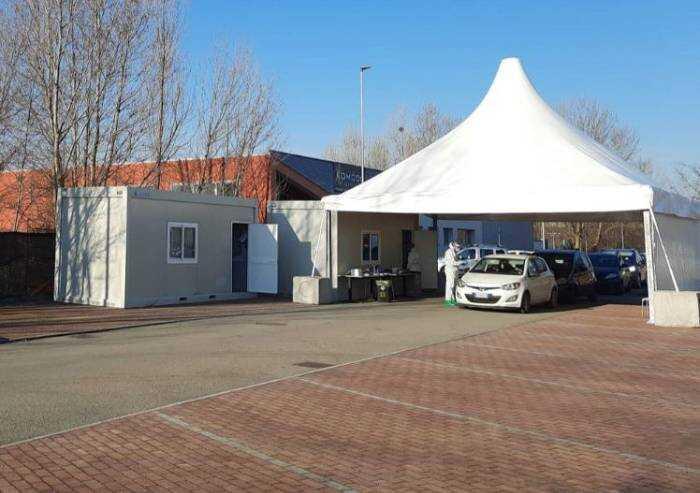 Drive Through di Castelfranco Emilia, attiva da oggi la nuova sede