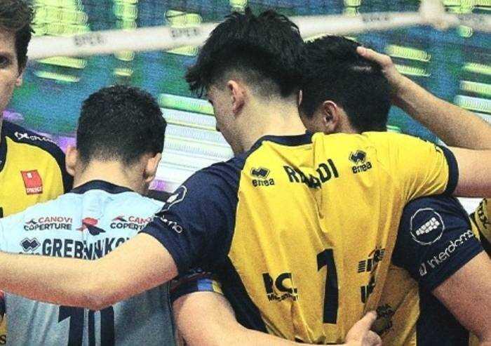 Modena volley, cinque casi di Covid registrati oggi