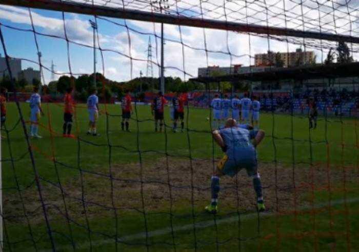 Sei gol per un pareggio, Virtus Verona-Modena 3-3