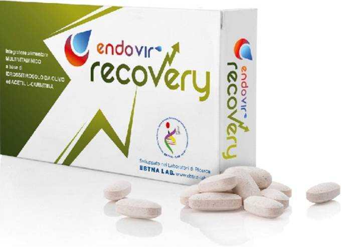 Il nuovo integratore alimentare multivitaminico Endovir Recovery