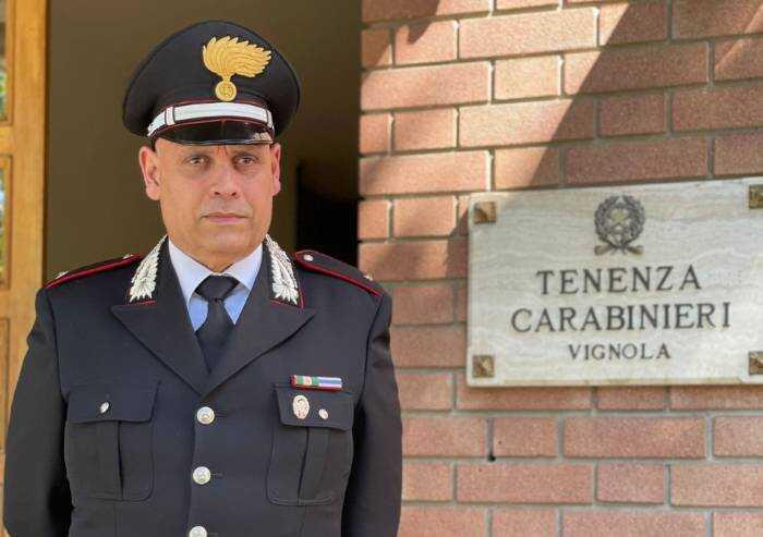 Vignola, Riccardo Cappelletti è il nuovo comandante dei carabinieri