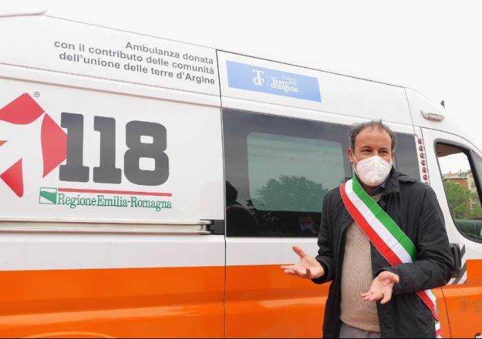 Dall'Unione Terre d'Argine arriva una seconda ambulanza per il 118