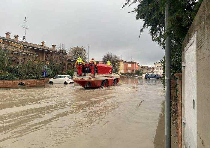 Alluvione Nonantola: 300 euro per abitazione per danni urgenti, cittadini in piazza