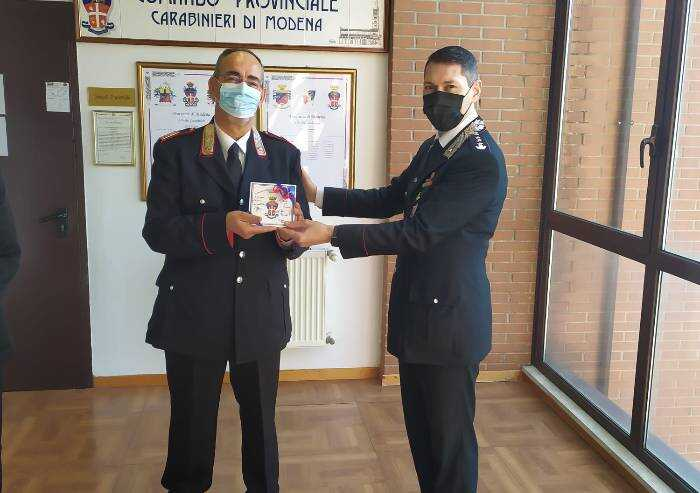 Pavullo, il comandante della stazione carabinieri va in pensione
