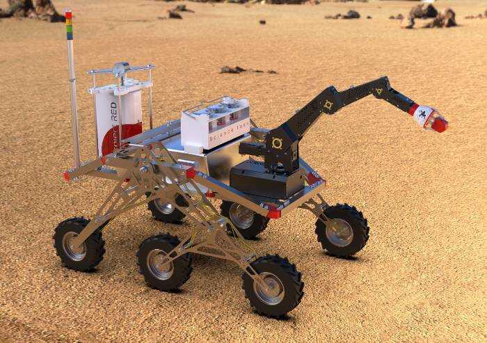 Robotica: studenti Unimore vincono l'European Rover Challenge