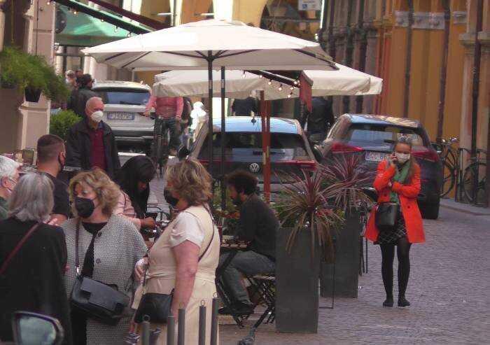 Covid Modena, confermati numeri da zona bianca