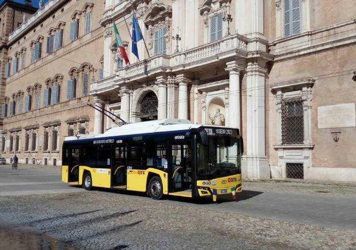 'Modena, addio alla linea filoviaria 11: Seta intervenga'