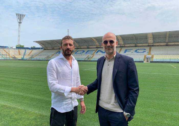 Modena calcio, Rivetti sceglie Davide Vaira come direttore sportivo