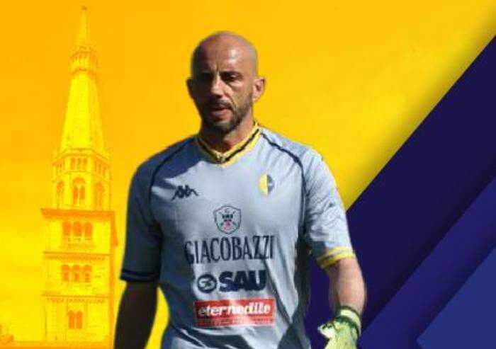 Modena calcio, rinnovato il contratto al 41enne portiere Narciso