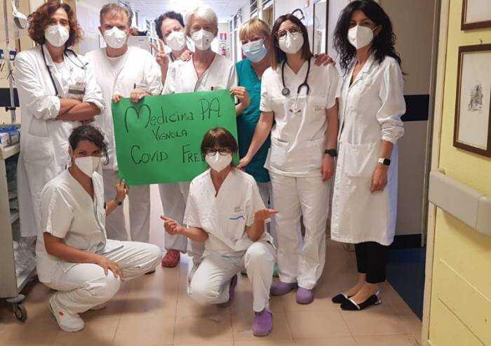 Ausl Modena, anche l'ospedale di Vignola torna Covid free