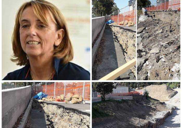 'Alla Fossalta nessun collasso, demolizione prevista dai lavori'