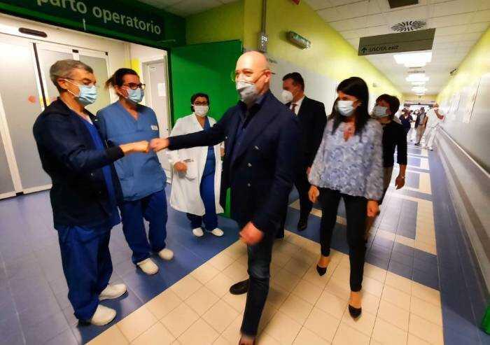 Vignola: giunta regionale in visita al cantiere nuovo Pronto soccorso
