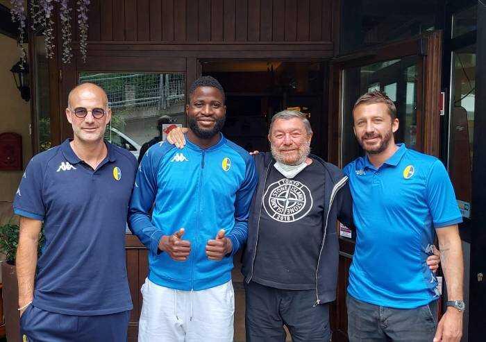 Al Modena arriva l'attaccante Ogunseye