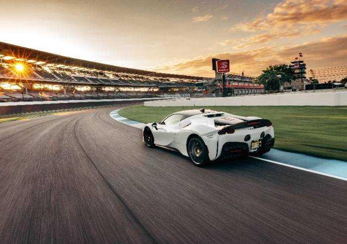 Indianapolis, record sul giro per la Ferrari SF90