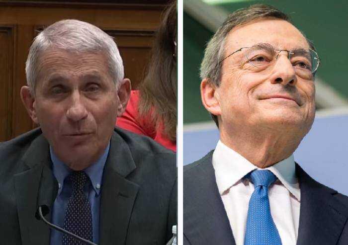 Fauci smentisce Draghi: 'Con variante Delta vaccinati sono contagiosi'