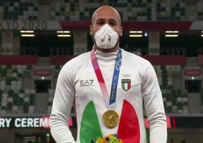 Orgoglio Italia, Oro olimpico al collo dell'uomo più veloce al Mondo