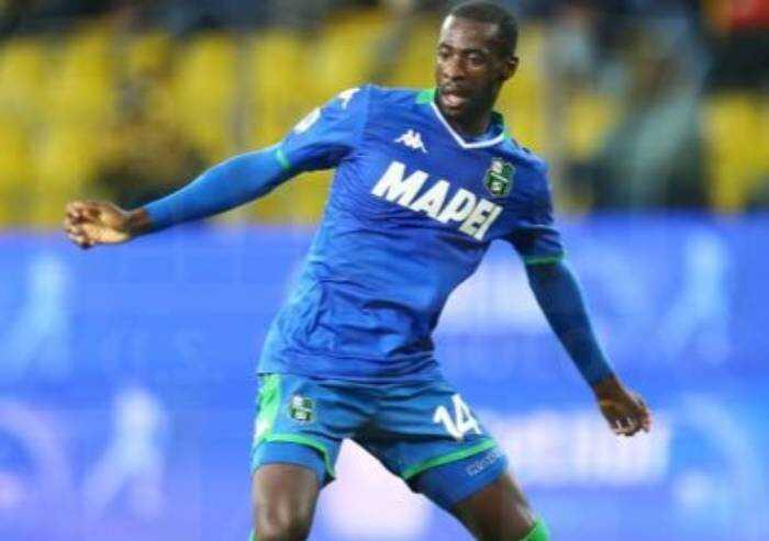 Sassuolo, calciatore Obiang 'ha avuto la miocardite'. Stop di 6 mesi