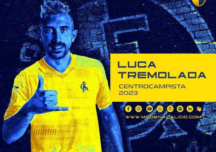 Modena calcio: Tulissi parte, arriva Tremolada