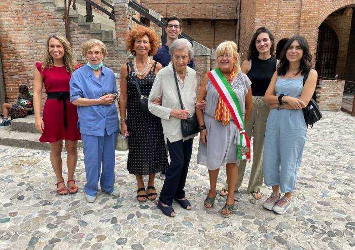 Formigine, i 100 anni di Rosanna che abitava nel Castello