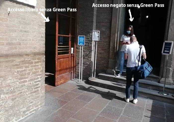 Nel Municipio con libero accesso, continua il muro ai giornalisti senza green pass