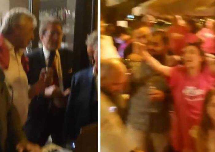 Modena: cena, balli, assembramenti e disco-party col sindaco in pieno centro