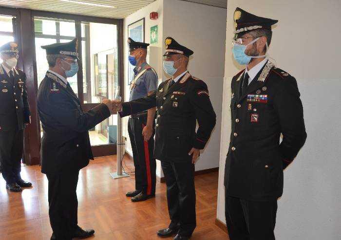 Carabinieri: il comandante Interregionale in visita a Modena