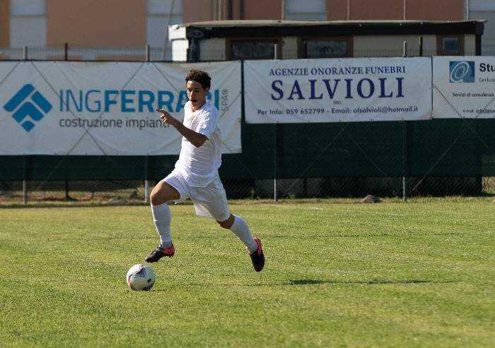 Modenese calcio, pareggio a Fidenza