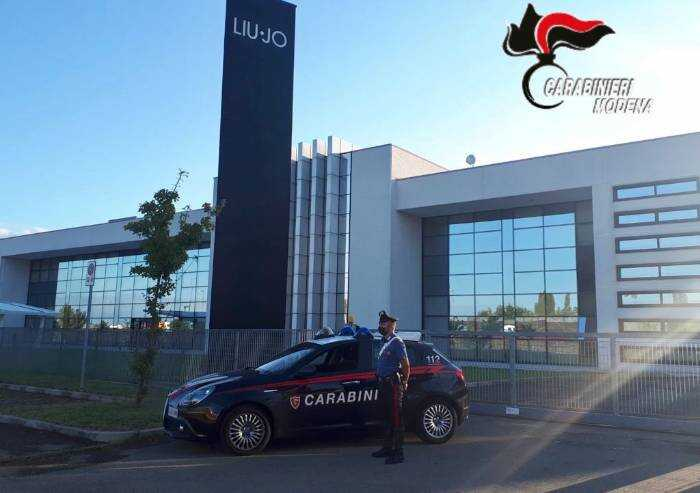 Carpi, tentano colpo allo stabilimento Liu Jo:  arrestati