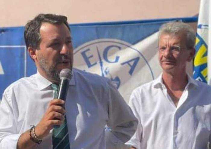Salvini a Finale per la continuità Palazzi