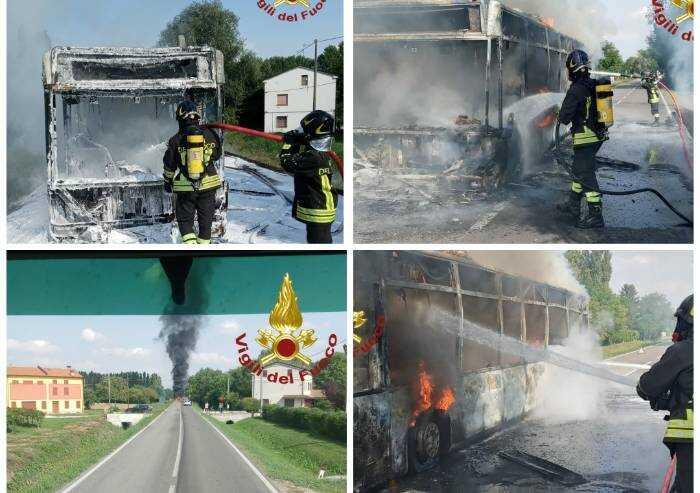 Novi, altro bus a fuoco, paura ma nessun ferito
